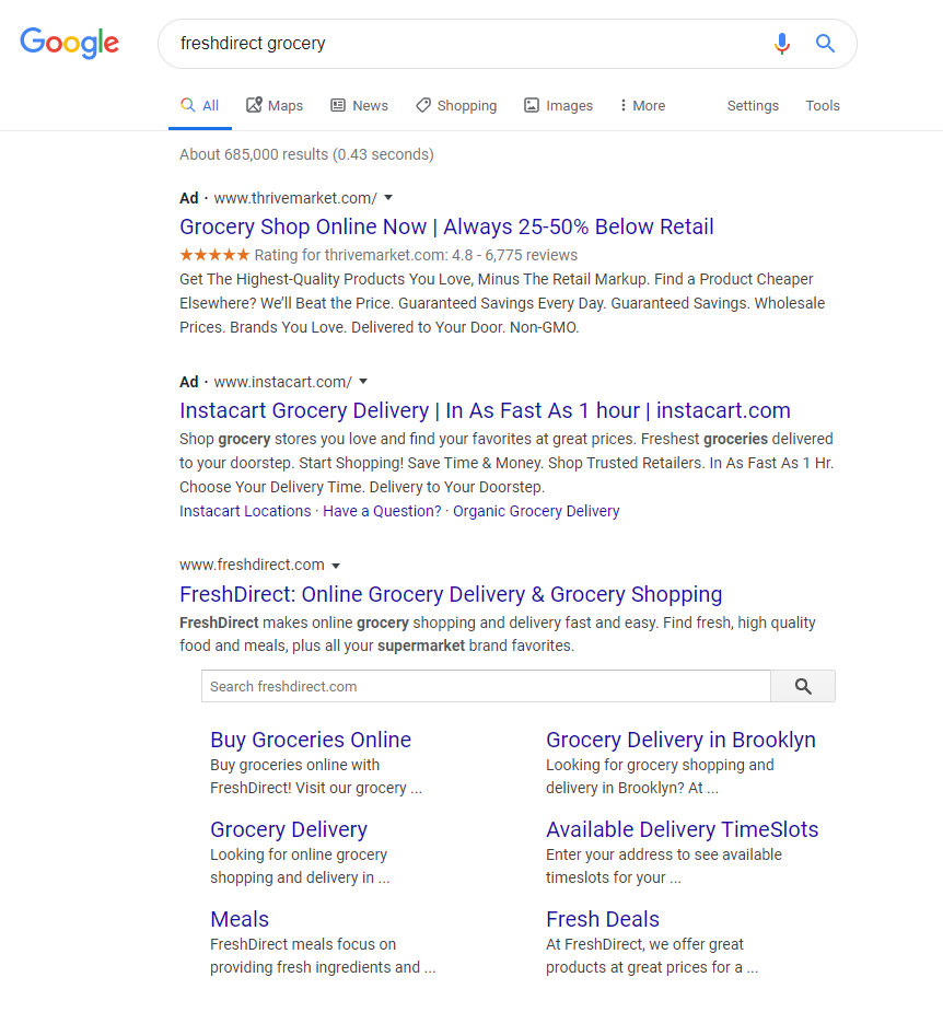 Google Ads Brand Campaign Out Bid