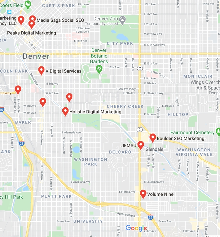 Google Map Rankings
