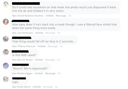 Facebook Ads Mistakes Comments
